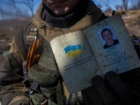 War on east side of Ukraine.