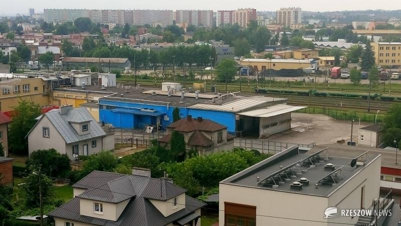 Fot. Czytelnik Rzeszów News. Na zdjęciu zakład Res-Drob (niebieski budynek)