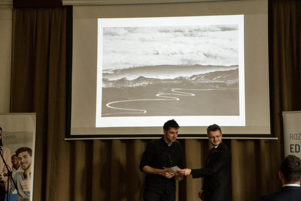 Fot. Materiały WSIiZ. Zdjęcie z Gali Finałowej