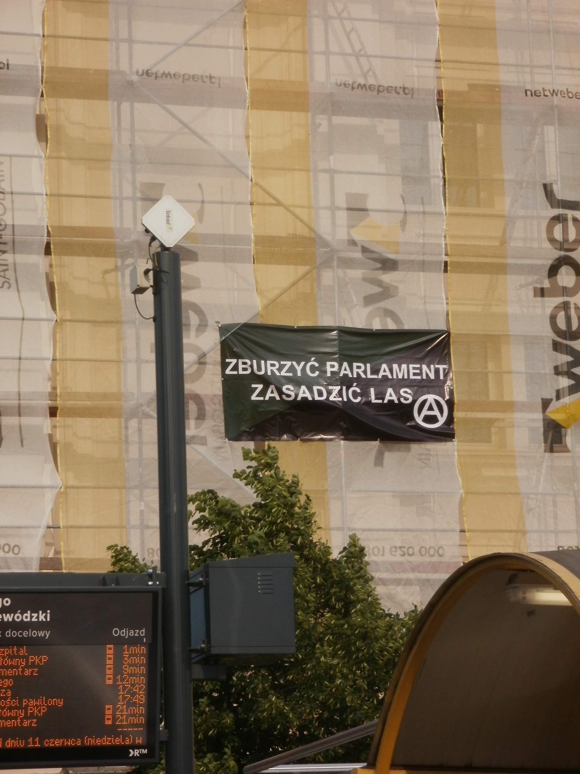Zdjęcie: Materiały Federacji Anarchistycznej w Rzeszowie