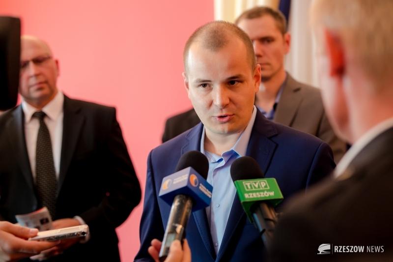 Fot. Sebastian Fiedorek / Rzeszów News. Na zdjęciu Maciej Masłowski
