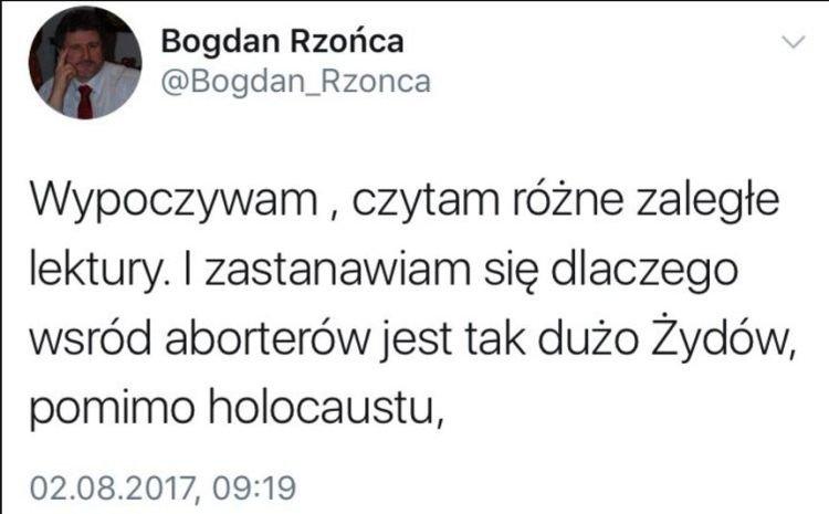 Zdjęcie: Twitter.com / Bogdan Rzońca