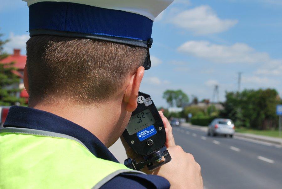 Znalezione obrazy dla zapytania kontrola prędkości policja