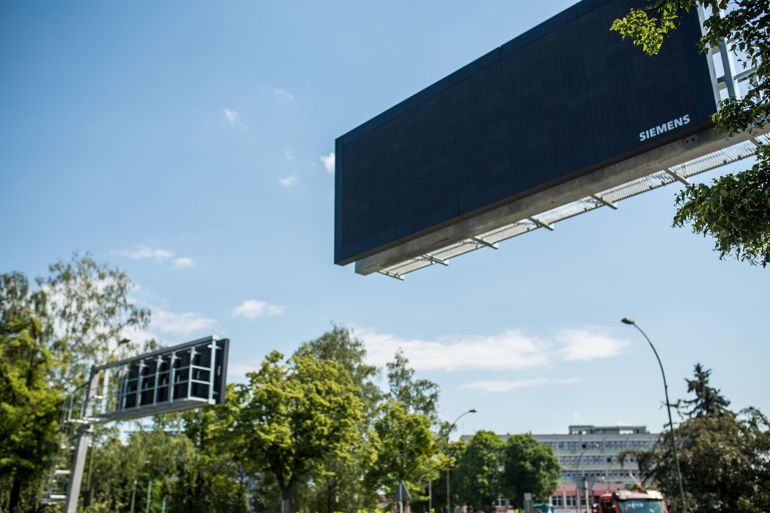 Nowe tablice elektroniczne na ulicach Rzeszowa. Większe i bardziej czytelne