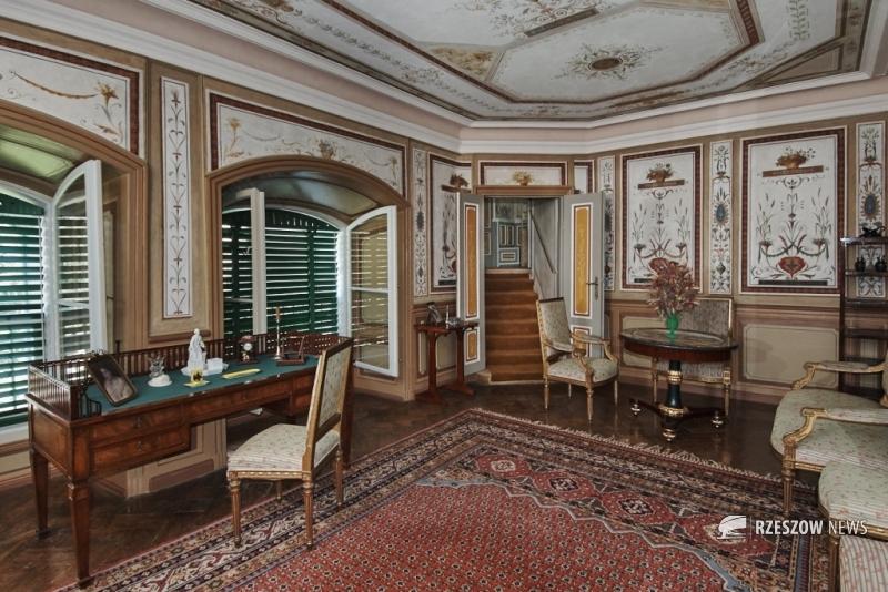 Salon Pompejański B - II piętro - fot. arch. MZL