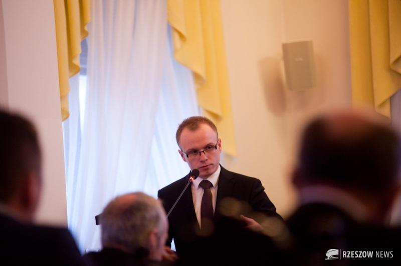 Fot. Piotr Woroniec Jr / Rzeszów News. Na zdjęciu Marcin Fijołek (PiS)