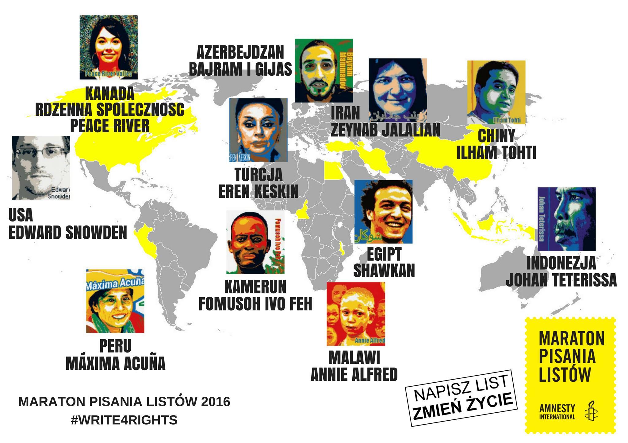 Zdjęcie: Materiały Amnesty International