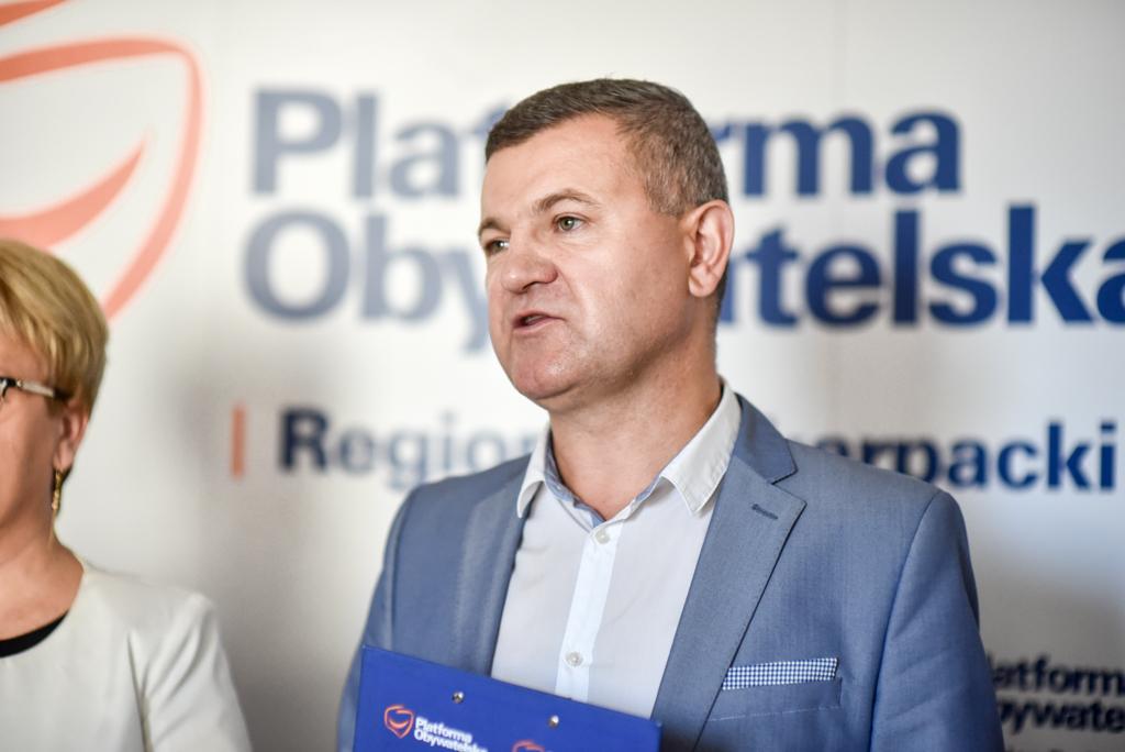 Fot. Urszula Chrobak / Rzeszów News. Na zdjęciu Krzysztof Kłak