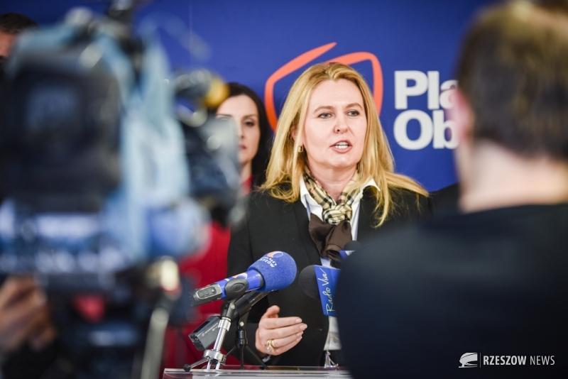 Fot. Urszula Chrobak / Rzeszów News. Na zdjęciu Elżbieta Łukacijewska