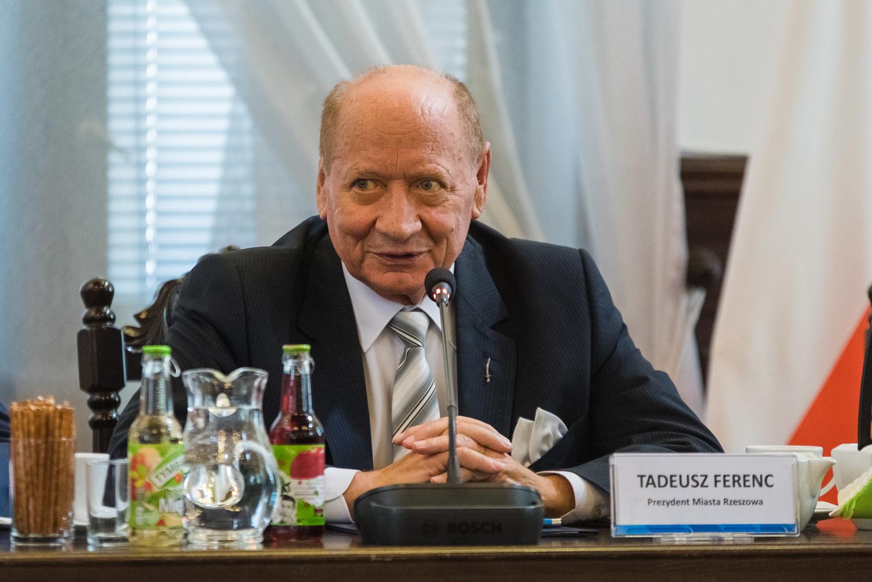 Fot. Tomasz Modras / Rzeszów News. Na zdjęciu Tadeusz Ferenc