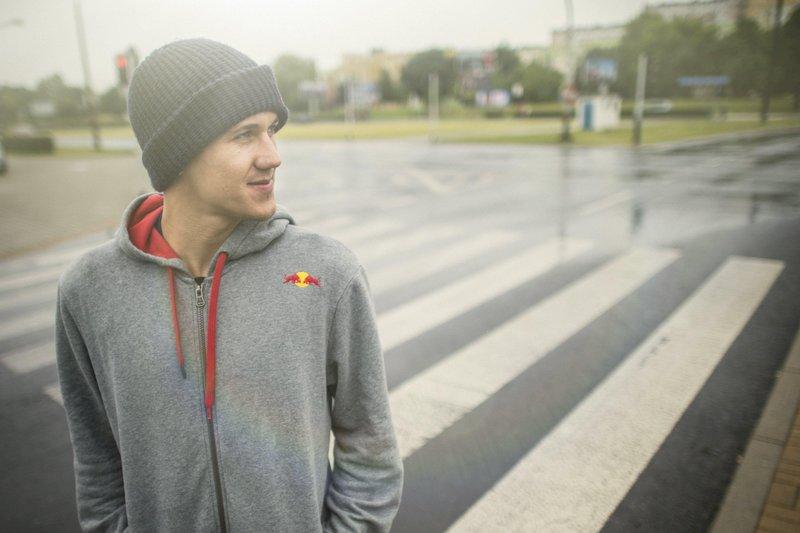 Fot. Zdjęcie: Łukasz Nazdraczew /Red Bull Content Pool. Na zdjęciu Maciej Janowski