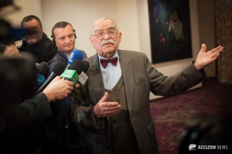 Fot. Piotr Woroniec Jr / Rzeszów News. Na zdjęciu prof. Marian Konieczny, twórca pomnika