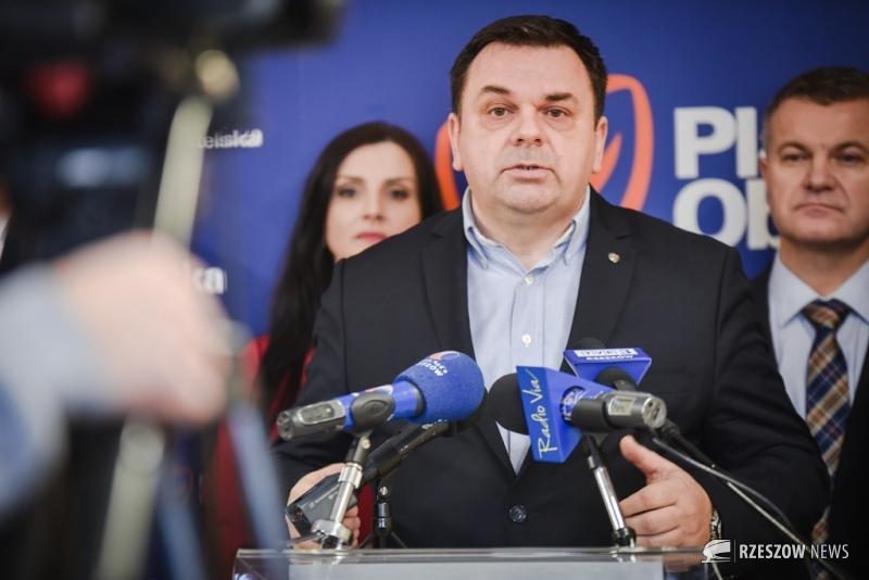 Fot. Ewa Szyfner / Rzeszów News. Na zdjęciu Marek Poręba