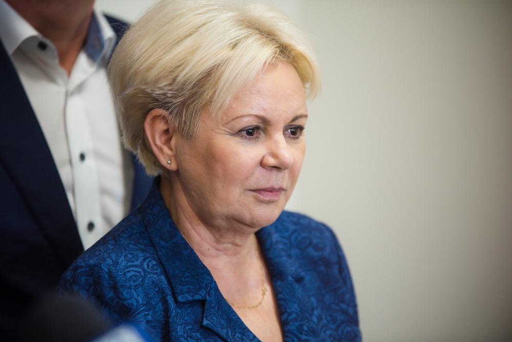 Fot. Tomasz Modras / Rzeszów News. Na zdjęciu Krystyna Skowrońska
