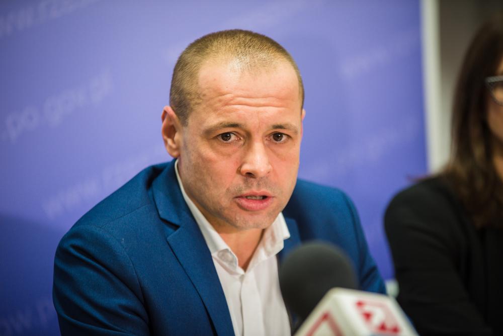 Fot. Tomasz Modras / Rzeszów News. Na zdjęciu Łukasz Harpula
