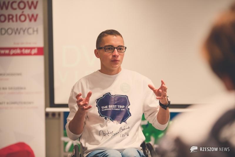 Fot. Tomasz Modras / Rzeszów News. Na zdjęciu Adrian Beściak