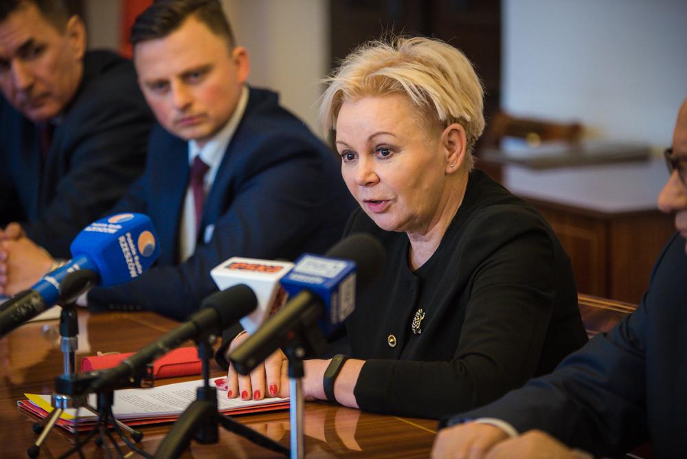 Fot. Tomasz Modras / Rzeszów News. Na zdjęciu Krystyna Skowrońska, posłanka PO
