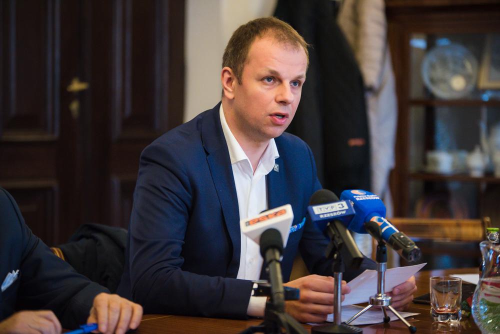 Fot. Tomasz Modras / Rzeszów News. Na zdjęciu Wojciech Bakun
