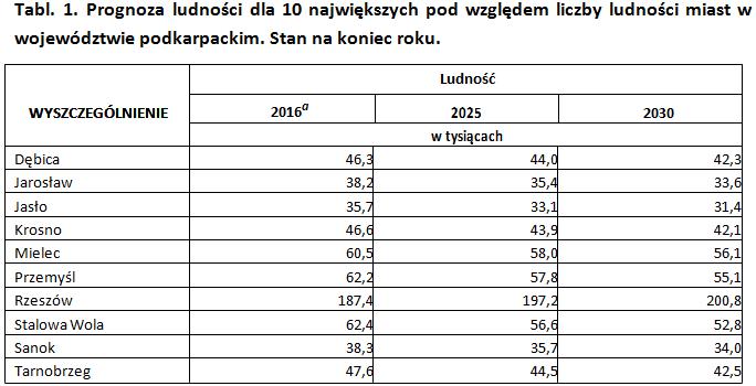 Zdjęcie: Urząd Statystyczny w Rzeszowie