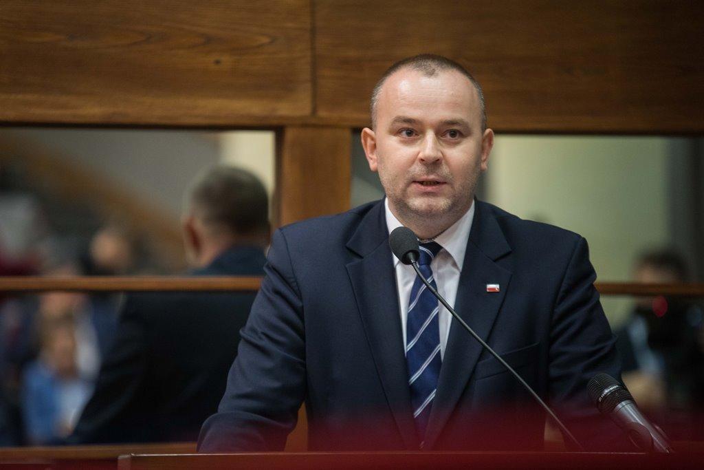 Fot. Michał Mielniczuk / Podkarpacki Urząd Marszałkowski. Na zdjęciu Paweł Mucha