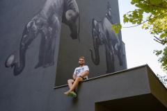 LOFT-Rzeszów-zdjęcie fasady z muralem